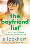 Ruby Oliver 1: The Boyfriend List - picture