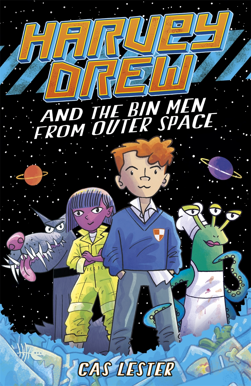 Harvey Drew and The Bin Men From Outer Space – picture